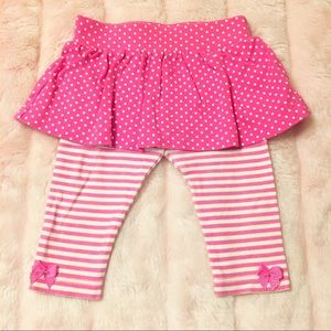 Baby Leggings and Skirt Set Size 3-6 Months